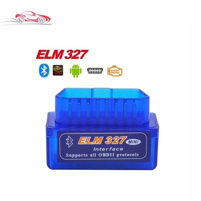 Latest Version Super Mini ELM327 Bluetooth V2.1 OBD2 Mini Elm 327 Car Diagnostic Scanner Tool For ODB2 OBDII Protocols
