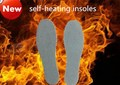 Insoles heated self-heating insoles orthotic insole foot massage  insole Tourmaline self-heating exercise plastic bag package