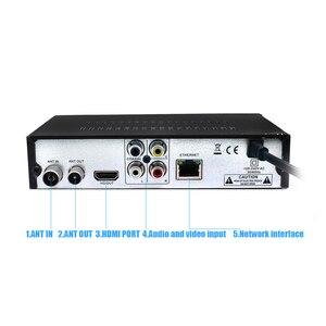Image 3 - DVB T2 odbiornik DVB T cyfrowa telewizja HD Tuner Receptor wsparcie Youtube MPEG4 DVB T2 H.264 naziemny dekoder zestaw z odbiornikiem Top Box