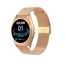 Купить с кэшбэком Ordro N3 Smart watch electronics smart bracelet Heart Rate 1.30 inch High-definition LCD Twitter HD display Fitness Tracker