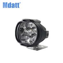 Mdatt светодиодный лампы мотоциклов светодиодный фара лампы 12 V 1200Lm мото-прожектор 6500 K Мотоцикл SMD светодиодный лампы декоративные свет