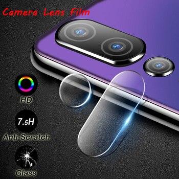 HD Full Cover Cámara Len película para Huawei Y7PRO 2019 P9 Plus Protector de pantalla de teléfono vidrio templado para Huawei P smart 2019