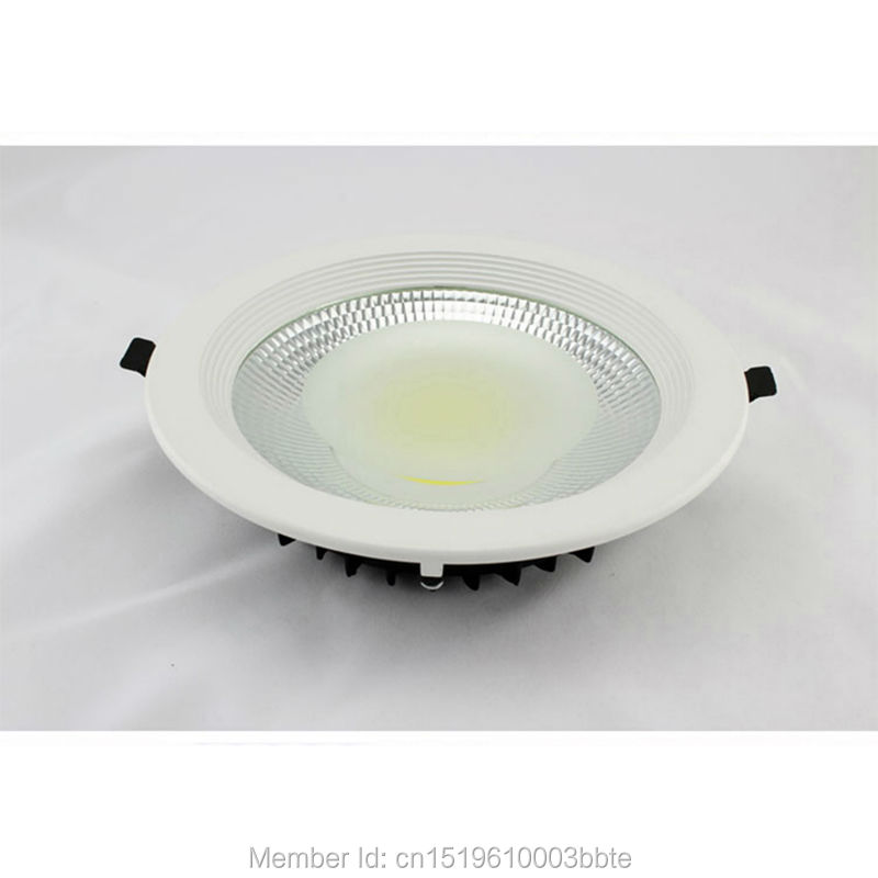 60PCS Garanti 3 år High Lumen Dimbar LED Down Lights COB LED Downlight 5W 7W 12W 15W 20W 30W Innfelt taklampe