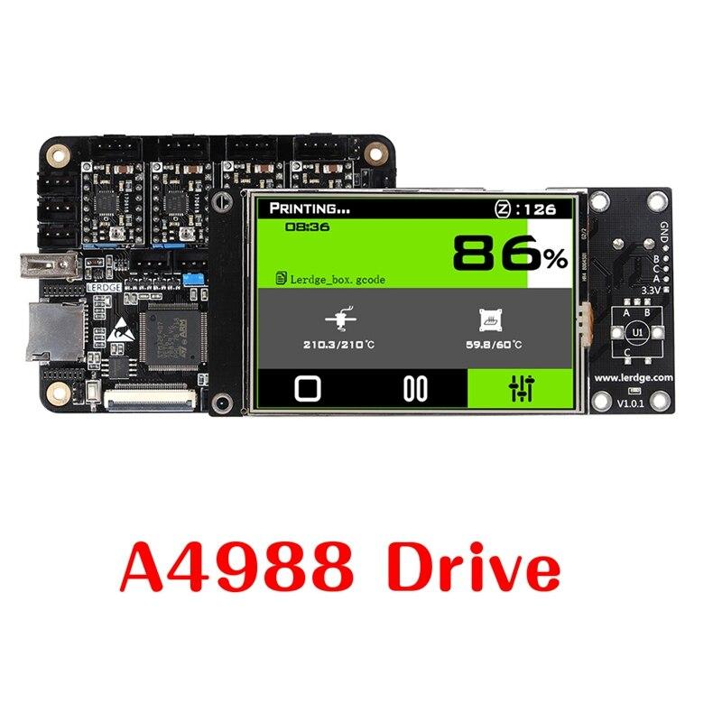 BLEL Chaude 3D Imprimante contrôleur BRAS 32Bit Mainboard contrôle avec 3.5