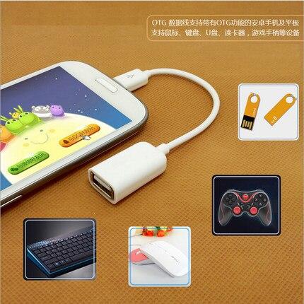 Caliente 2 Piezas Adaptador De Cable Otg Micro Usb A Adaptador Usb Para Samsung Htc Android Tablet Pc Utilizado Para Teclado De Ratón De Disco U Distintivo Por Sus Propiedades Tradicionales.