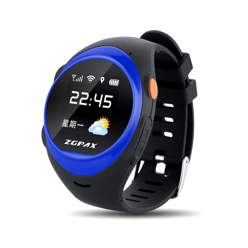 2016 Hot Sell Kids GPS Tracker Smart Watch S888 With GSM SOS Calling Function For Kidelderly Watch Phone wifi positioning watch