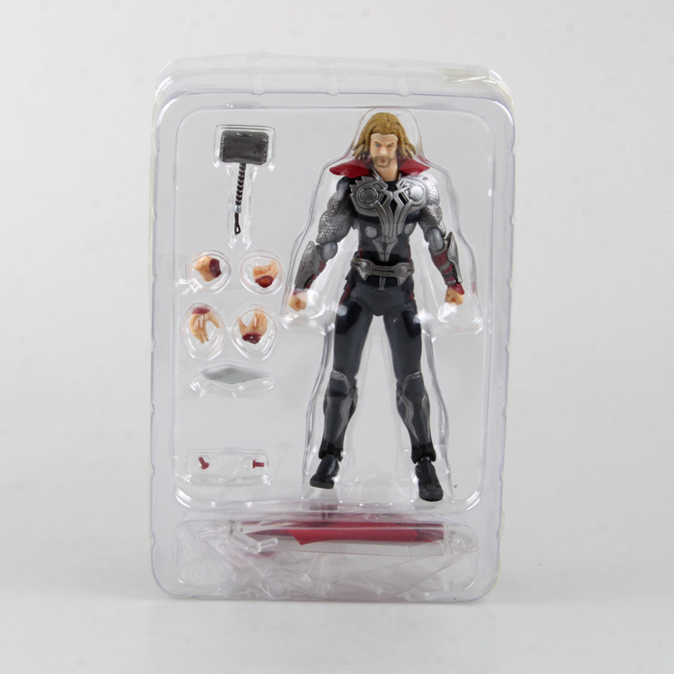 Marvel The Avengers Thor Figma 216 PVC Thor Action Figure Collectible Model Toy 14cm 2