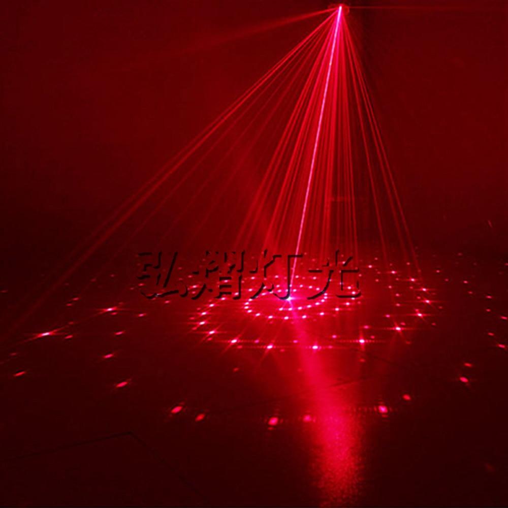 Mini LED 2in1 láser Disco etapa luz fiesta patrón iluminación proyector mostrar luces de Proyector láser fiesta de navidad - 5
