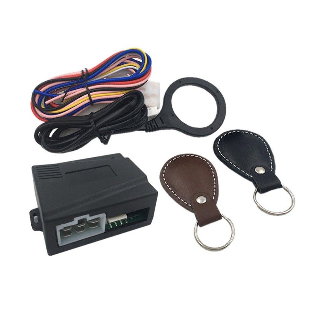 New Smart Car Engine Push Start Stop Button RFID Lock Ignition Keyless Entry System Auto Start Stop Immobilizer Starline