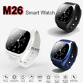 Smart Watch M26 Bluetooth Smartwatch LED Display Sport Wrist Watches Alitmeter Snyc for iOS Android Smart Phone U8