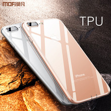 ФОТО for iphone 8 plus case silicone transparent for iphone 8 case cover jelly ultra clear for iphone8 plus soft tpu back case simple