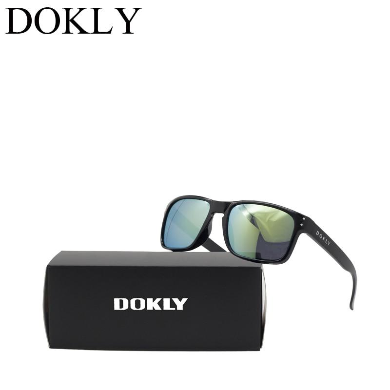 2019 Sluneční brýle Dokly UV400 Móda Muži a ženy Unisex Návrhář Sluneční brýle Houba Oculos De Sol Glasses