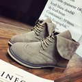 2016 Winter Women Fashion Winter Short Boots Snow Boot Preppy Style Women's Riding Ankle Boots Tenis Flat Equestrian Shoes Sales