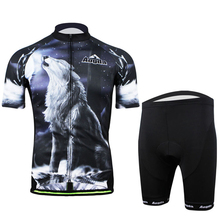 Aogda 2018 Howlin Wolf Men Bicycle Jersey Set Short Sleeve Cycling Jersey  mtb Summer Bike Suit 3d3e9ff3b