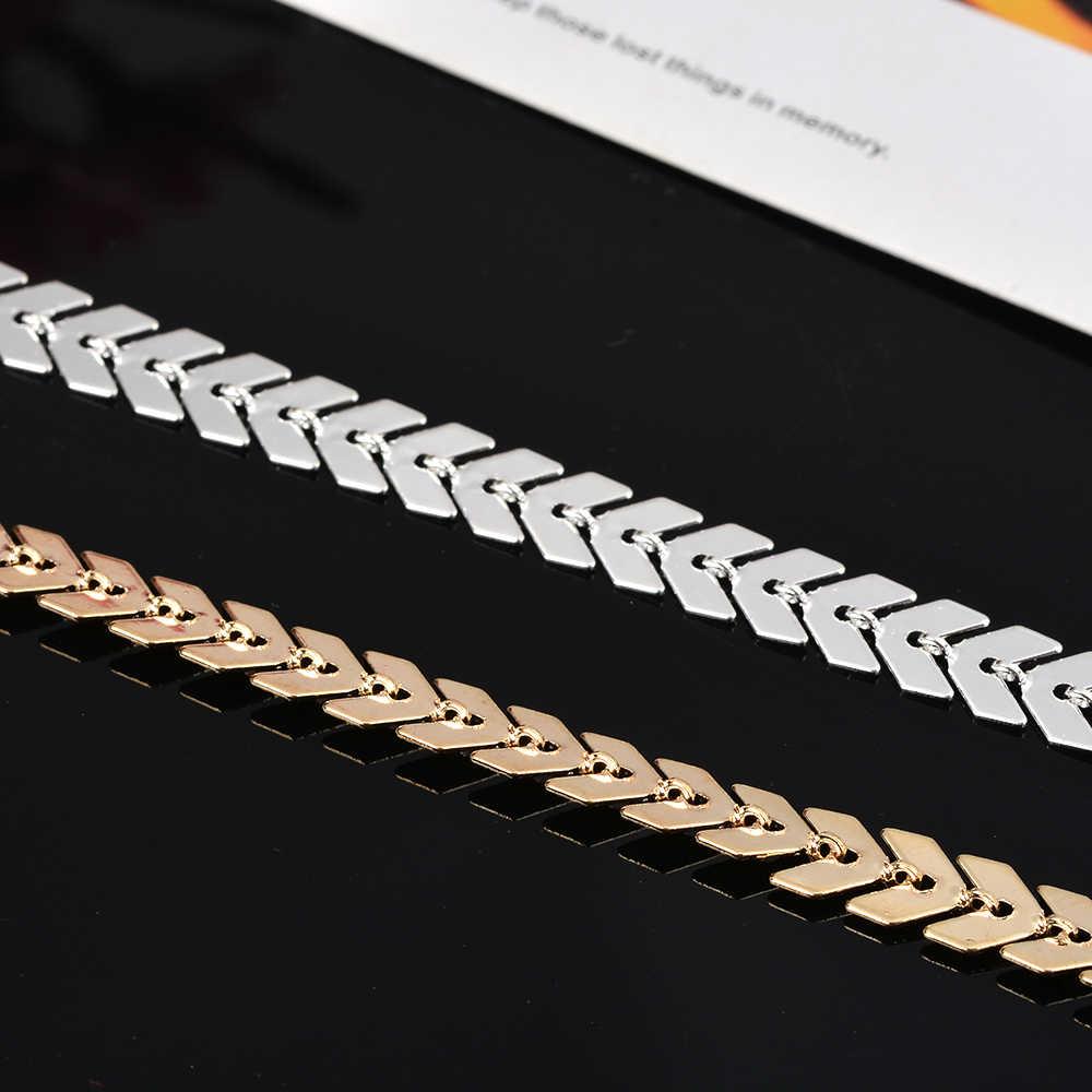 Bohemian Gold Kleur Arrow Been Armband Voor Vrouwen Vintage Yoga Strand Enkelbandje Zomer Stijl Sandalen Bruiden Schoenen Barefoot 2019
