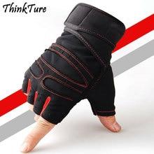 цена на Anti-slip Half Finger Gym Gloves Men Women Sport Training Fitness Weight Lifting Gloves Exercise Bodybuilding Mittens Equipement