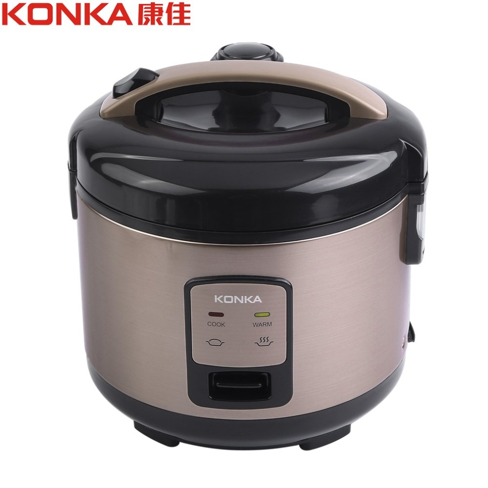 KONKA 220V 50Hz 500W 1L Smart Electric Rice Cooker Heating Pressure Cooker Home Appliances cooking elektrische rijst kook for kenwood pressure cooker 6l multivarka electric cooker 220v 1000w smokehouse teflon coating electric rice cooker crockpots