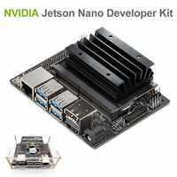 NVIDIA Jetson Nano A02 Kit de desarrollo para inteligencia Artiticial Deep Learning ia Computing, soporte PyTorch, TensorFlow Jetbot