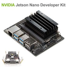 NVIDIA Jetson Nano Kit de Développement pour Artiticial L'intelligence Deep Learning AI Informatique, Soutien PyTorch, TensorFlow Jetbot(China)