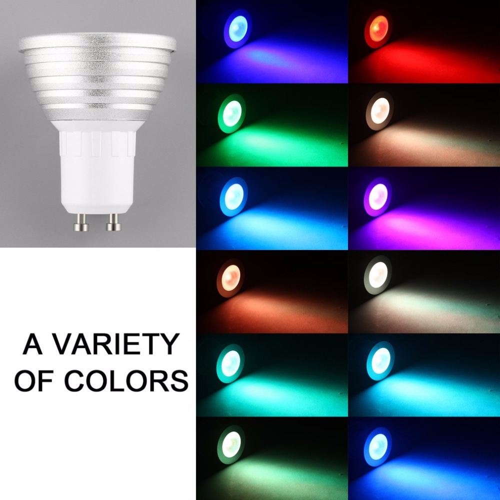 E27 Multi Color Change RGB Magic LED Light Bulb Lamp 100-240V with Remote Control Ultra Bright Environmently No UV IR radiatioon