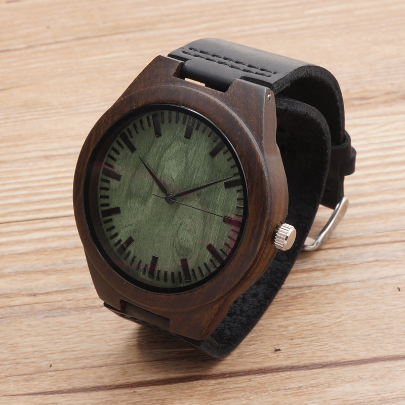 BOBOBIRD Top Quality Retro Bamboo Wooden Watches Luxulry Brand Designer Watch Leather Band Quartz Watches for