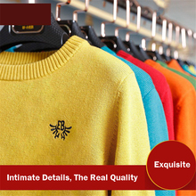 Hot Sale Kids Sweater Boys Sweater Children Autumn Winter New Year Men Full Sleeve Solid Color Casual Pullover 50W0008