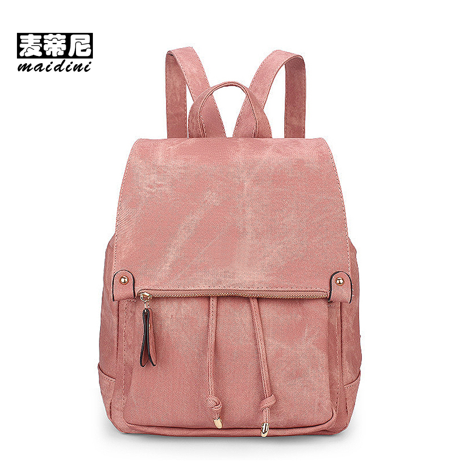 Vintage Leather Backpack Women Travel Bag Large Schoolbag For Teenagers Girls Solid Candy Pink College Backpack Mochila Feminina 2017 new women leather backpacks bolsas mochila feminina large girls schoolbag travel bag solid candy color femme sac a dos