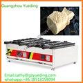 Großen offenen mund eis taiyaki maschine für verkauf/Elektrische taiyaki waffel maschine-in Waffeleisen aus Haushaltsgeräte bei