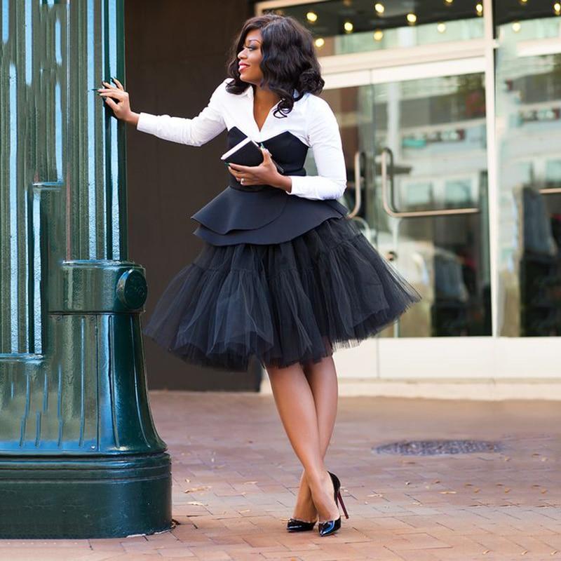 eb5e33e51966 5 Layers 55cm Long Celebrity Wedding Petticoat Bridal Midi TUTU Slip Princess  Adult Tutu Ball Gown Summer Style Faldas Saias-in Petticoats from Weddings  ...