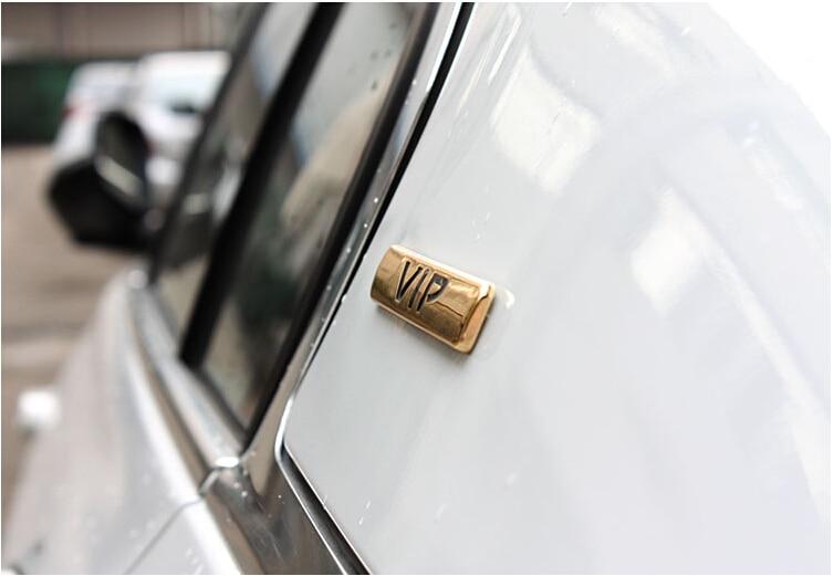Omotavanje VIP 3D metalni luksuzni automobil auto bočna vrata C stup - Vanjska auto oprema - Foto 3