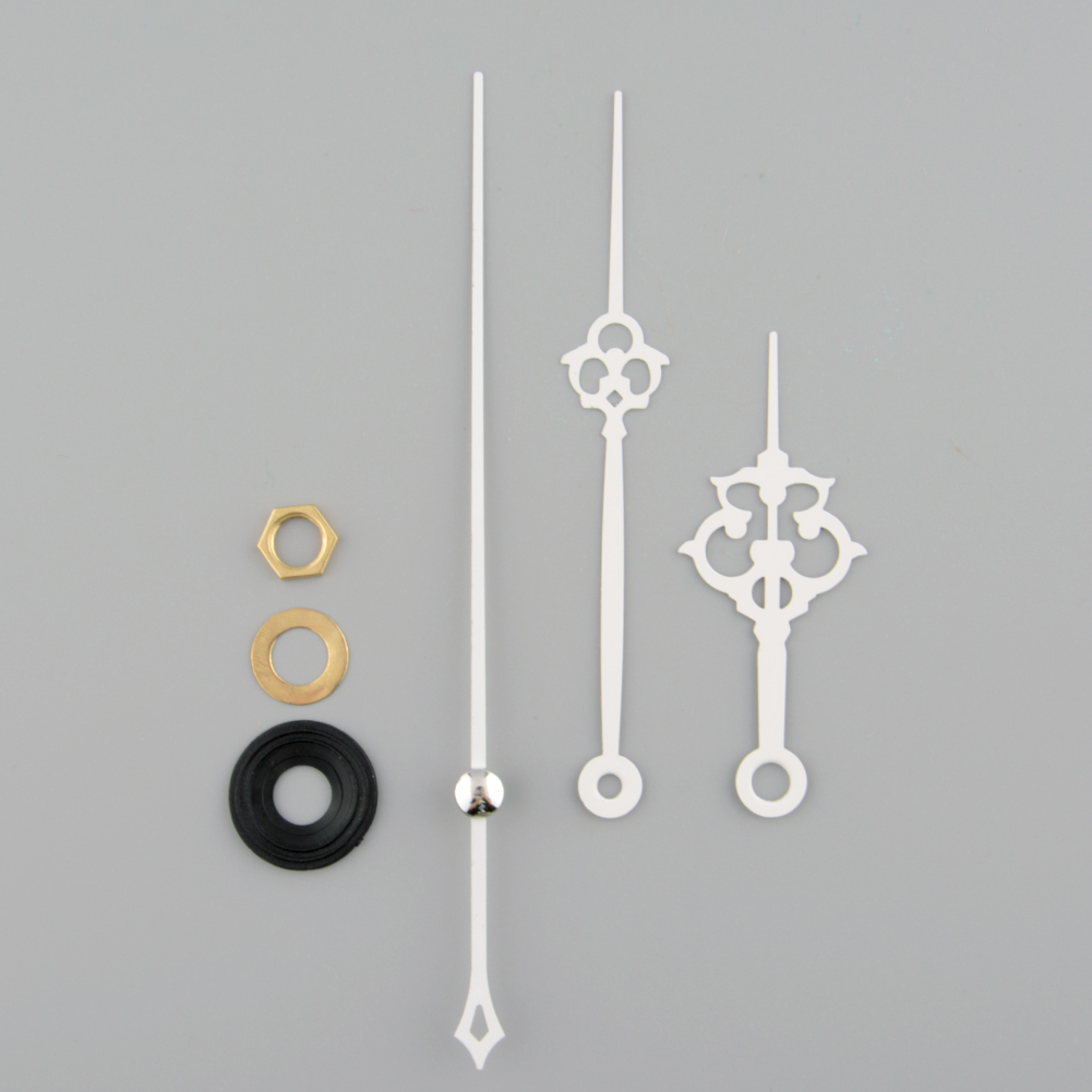 Часы кварцевый механизм белый ручной запасная часть ремонтный комплект