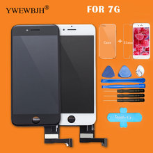 YWEWBJH Parts 20pcs/lot AAA Touch Screen  For iphone 7 LCD digitizer Assembly with 3D touch Replacement screen  Free DHL for htc titan x310e lcd with touch screen digitizer assembly by free dhl ups or ems 100% warranty 5pcs lot