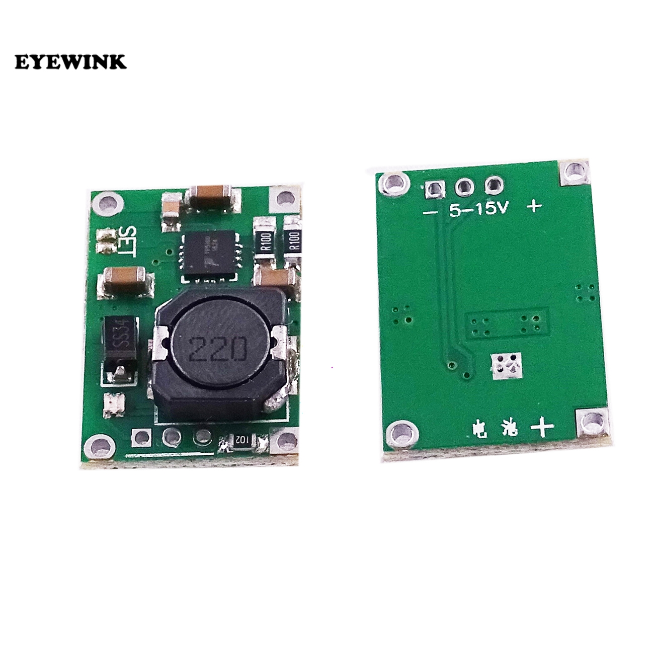 TP5100 2 ячейки/одна литиевая ионная батарея зарядное устройство Модуль 1-2A PCB 18650 4,2 V 8,4 V