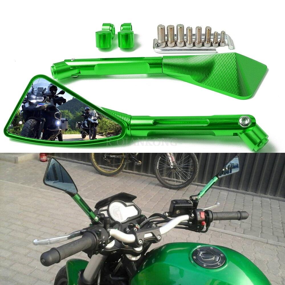 Rétroviseur latéral universel de guidon de vue arrière de moto pour Honda msx125 Kawasaki versys 650 Yamaha Benelli suzuki drz 400