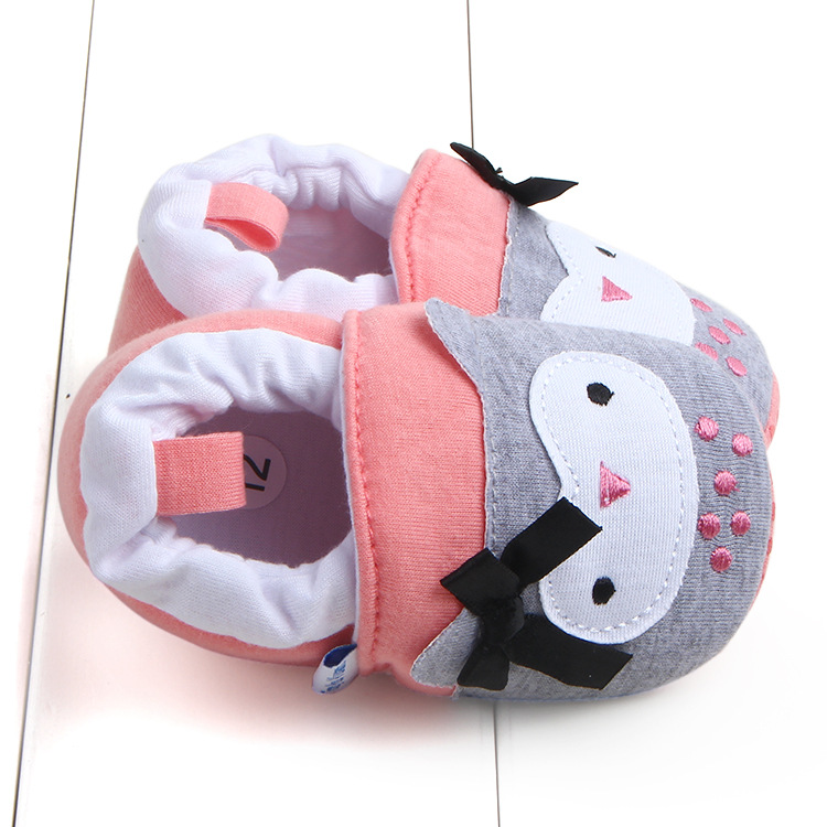 First Walkers Baby Shoes Cotton Anti-slip Booties Baby Girl Boy Shoes Animal Cartoon Newborn Slippers Footwear Booties Kids Gifts (4)
