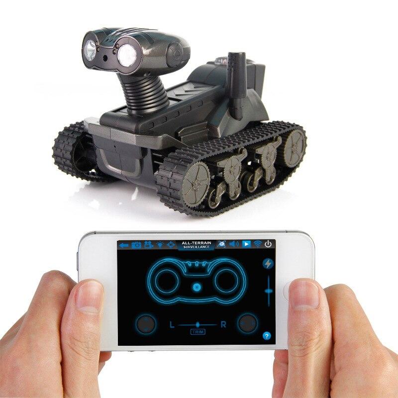 2.4g 4ch wifi control de iphone ipad móvil android tanque de coche cámara de víd
