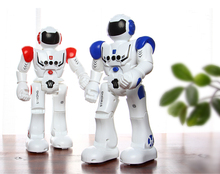 Two-Colored Smart RC Robot with Sing/Dance Action for Children