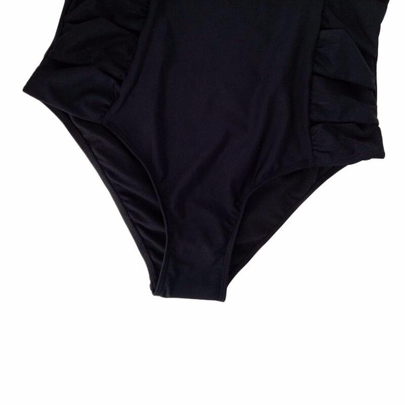 Bikini 2018 Sexy One Piece Swimsuit Solid Female May Women Fused Swimwear Backless Maillot De Bain 1 Piece Femme Bather Monokini