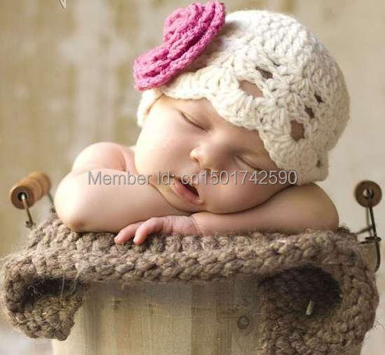 Las mujeres bebé sombrero de princesa niño gorra fotografía de bonnet