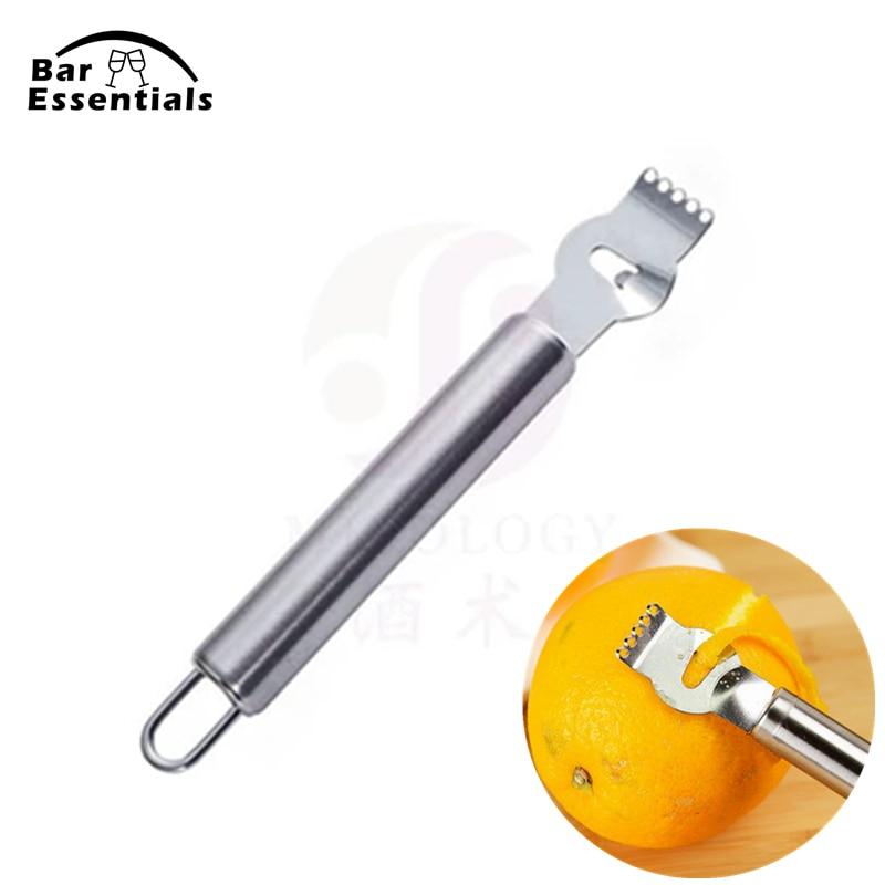 Lemon Orange Citrus Peeling Grips Fruit Zester Grater Kitchen Stainless Steel