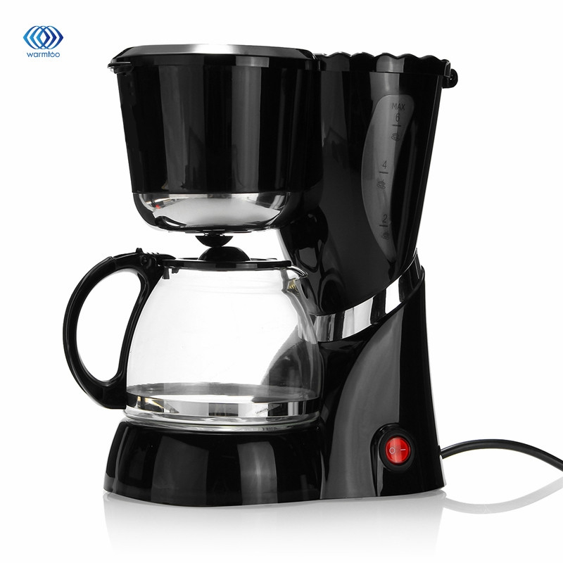 600 ML 220-240V Drip Coffee Maker Machine Electric Black Hourglass Make Cafe Tea Multifunctional AU cukyi electric automatic hourglass coffee maker drip cafe american coffee machine white