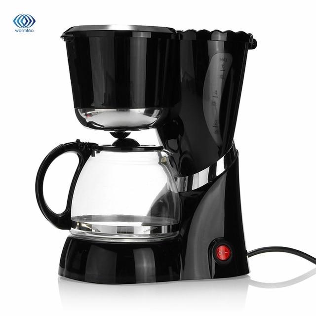 600 Ml 220 240v Drip Coffee Maker Machine Electric Black Hourgl Make Cafe Tea Multifunctional