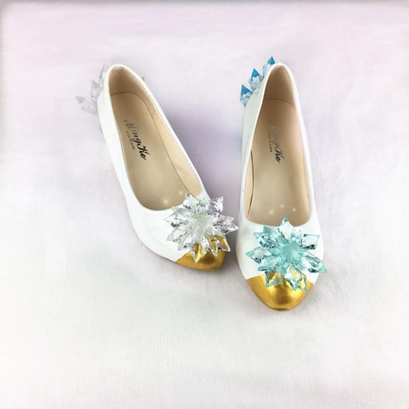 日本ホットアミンカードキャプターさくらのコスプレ衣装アクセサリー美しいクリスタルの靴のための  グループ上の ノベルティ & 特殊用途 からの 靴 の中 1
