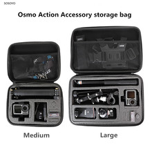 Osmo Action Portable storage bag Shockproof Carrying Case Protective Box For DJI Osmo Action Sports camera Accessories