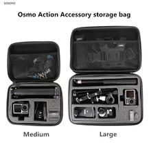 Osmo Eylem Taşınabilir saklama çantası Darbeye Taşıma Çantası Koruyucu Kutu DJI Osmo Için Eylem Spor kamera Aksesuarları