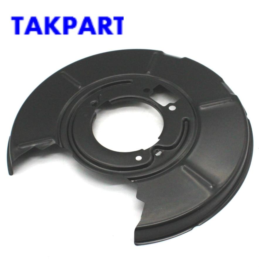 TAKPART FOR BMW E36 E46 316i 328i REAR DISC BRAKE BACK PLATE RIGHT & LEFT 34211158992 34211158991 Caliper & Parts     - title=