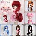 Бесплатная доставка BBgirl sd/bjd куклы для женщин парик аксессуары для волос