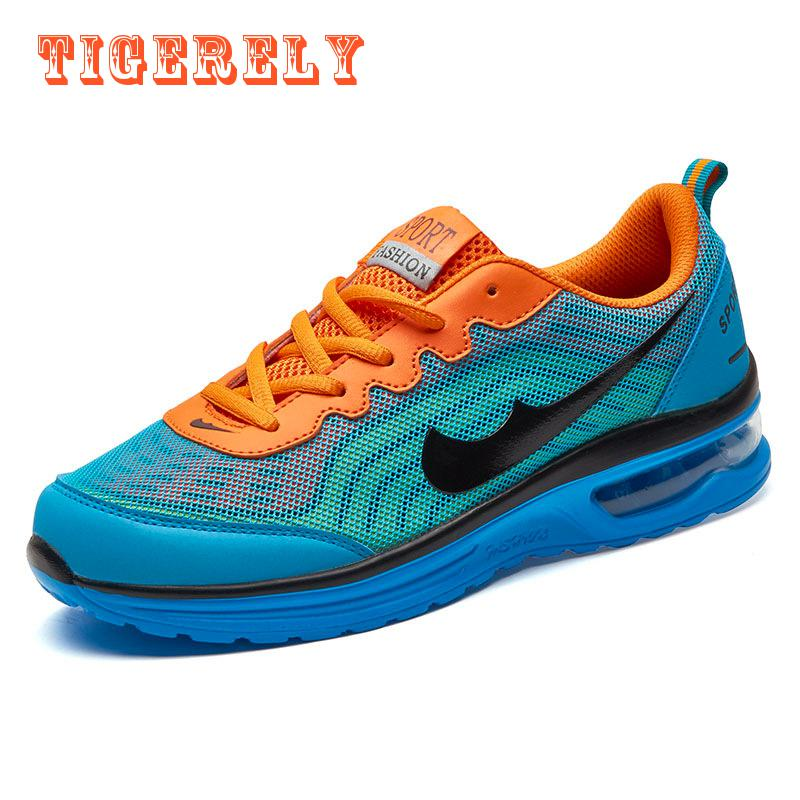 ФОТО men's sport running shoes music rhythm men's sneakers breathable mesh outdoor athletic shoes
