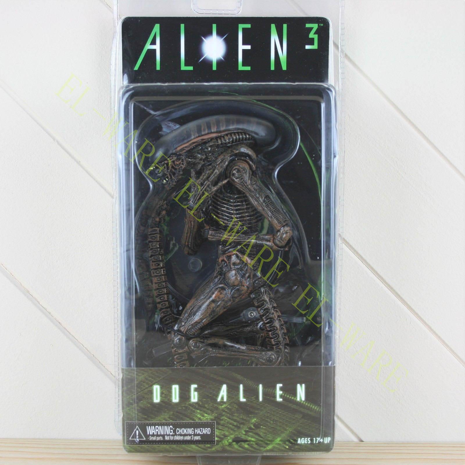 US $20 98 20% OFF|NECA Aliens 3 Series 8 Alien Brown Variant Xenomorph Dog 7