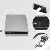 Externe USB3.0 DVD CD-RW Drive Writer Brander Dvd-speler Voor Laptop/Desktop PC Hoge snelheid DVD Drive Voor Windows 7/8/10 Voor Mac